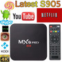 Tv Box Android Convierte Tu Tv A Smart Tv Mxq Pro 4k