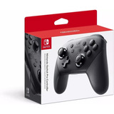 Control Pro Nintendo Switch Negro