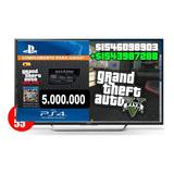 Dinero+rp Gta V Online Ps4 (5 Millones)