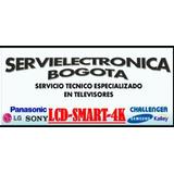 Servicio Tecnico- Reparacion De Televisores Led-repuestos