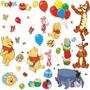Stickers Habitacion Winnie Pooh Y Sus Amigos