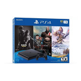 Ps4 Slim 1tb + 3 Juegos Consola Playstation Bundle Hits 6