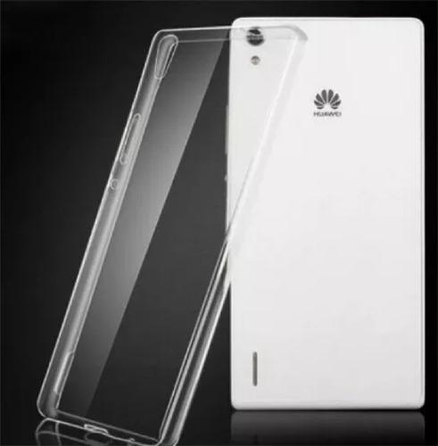 Protector De Silicona Ultra Slim Huawei Ascend P7