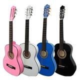 Guitarras Acusticas Niños 6 A 10 Años Incluye Forro+metodo