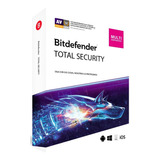 Bitdefender Total Security Licencia 3 Meses - 5 Pc