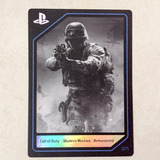 Call Of Duty Modern Warfare Playstation Experience Card 2016
