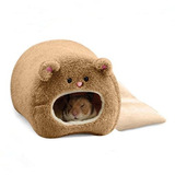 Cama Para Hamster Zhwky Cálido Y Acogedor 11cm