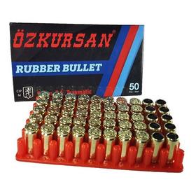 Municion Traumatica Balas Salva Pistolas  Tipo 9mm Caja X 50