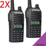 2x Radiotelefono Baofeng Uv-82 Radio De Dos Vias E/g W01