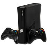 Xbox 360 500gb 5,0 80-90 Juegos Dos Controles Con Obsequio.