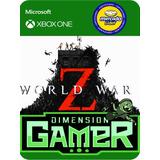 World War Z Xbox One No Codigo Offline