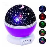 Proyector Lampara Cielo Gizmos Giratorio Luna Y Estrellas