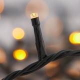 100 Luces De Navidad Led Amarillas
