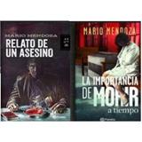 Libros De Mario Mendoza Seleccione 2 Libros Como Guste Nuevo