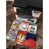 Play Station 3 Ps3 160 Gb Slim 1 Control Original Y 5 Juegos