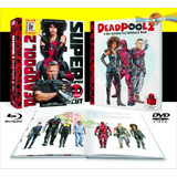 Deadpool 2 (2018) Blu-ray + Hd Ed. Limitada + Book