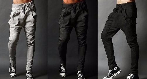 d17aba8022 Pantalon Sudadera Largo Doble Bolsillo Hombre