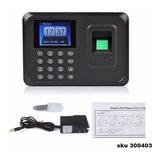 Reloj Biometrico Control Asistencia Con Huella Password W01