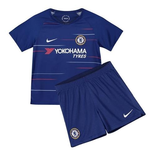 eb0a86e50d Uniforme Chelsea F.c 2018/2019 Niño Oficial