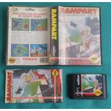 Rampart - Completo / Sega Genesis Usa 40