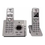 At&t Teléfono Inalambrico Dúo Tecnologia Dect 6.0 Doblehandy