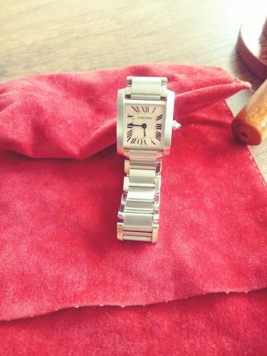 Vendo Espectacular Reloj Cartier De Dama Original