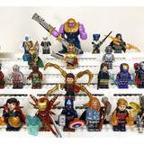 Mini Figuras Marvel Vengadores Dc Batman Spiderman Iron Man