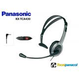 Diadema Panasonic Kx-tca430. Manos Libres Control De Volumen