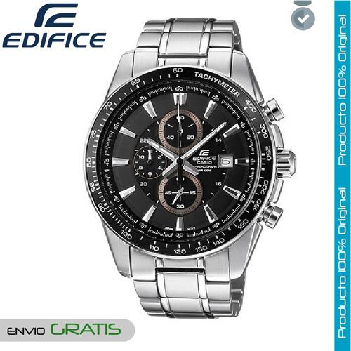 b4b4e06fbd0b Reloj Casio Edifice Hombre Ef-547d-1a1 Cronografo - Negro