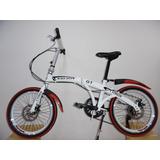 Bicicleta Plegable Rin 20  7 Cambios Shimano Alien Bike