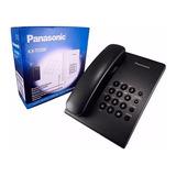Telefono Panasonic Fijo De Mesa Alambrico Ts500 Nuevo Garant