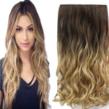 Extension Cabello Apariencia Natural Cortina 60 Cms