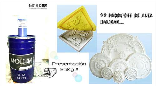 Caucho silicona liquida 1kg para moldes rtv2 poliuretano - Silicona de poliuretano ...