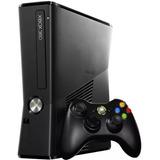 Xbox 360 Slim 4gb Con 2 Controles +10 Juegos Obsequio+envio