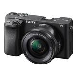 Cámara Sony A6400 24,2 Mp Con Lente 16-50mm F/3.5-5.6 Pz