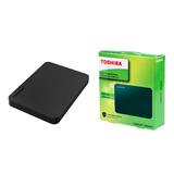 Disco Duro Externo Toshiba 2tb Usb 3.0 Canvio + Estuche