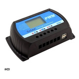 Controlador Regulador Carga Panel Solar 30a 12v/24v Pantalla