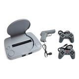 Consola Poly Station Super Game Pistola Y 2 Controles Oferta