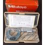 Micrómetro Mitutoyo P/exteriores 0-1  103-177 M110-1japones