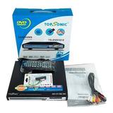 Reproductor De Dvd Topsonic Usb/mp3 Ts-dvd1018