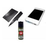 4x1 Kit  Taser iPhone + Gas + Navaja Tarjeta + Carnet