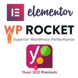 Elementor Pro 3.0.0 + Wp Rocket + Yoast Seo