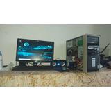 Computador De Mesa Cpu Compaq Y Monitor Hp 17'
