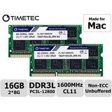 Memoria Ram Timetec Hynix Para Mac 16gb (2x8gb) Ddr3 1600mhz