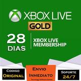 Xbox Live Gold 28 Días Trial Multiregion Codigo
