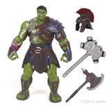 Figura Thor Hulk Ragnarok, Articulada, Importada