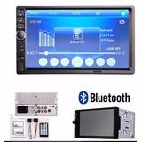 Radio Carro  Tactil 7'' Bluetooth Gratis Camara Leds Infr!!!