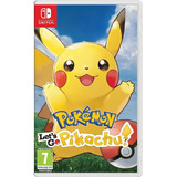Pokemon Let's Go Pikachu Nintendo Switch Entrega Inmediata