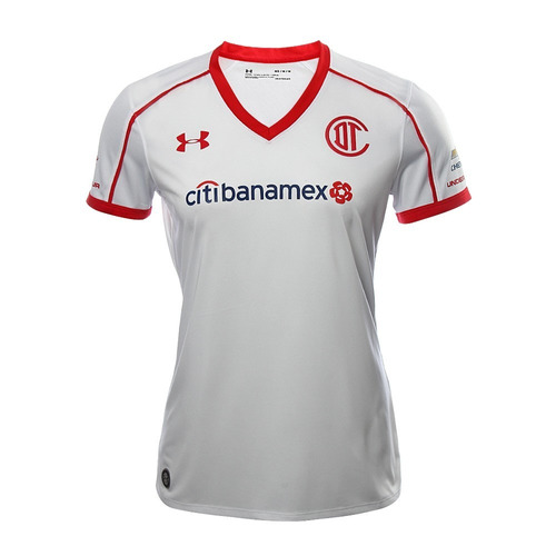 Camiseta Fútbol Under Armour Toluca Dama Alterna Nueva 2018 4e50789b4aaa2