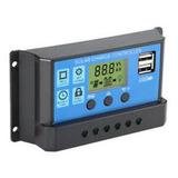 Nuevo 30a Pwm Panel Solar Regulador De Carga Controlador 12v